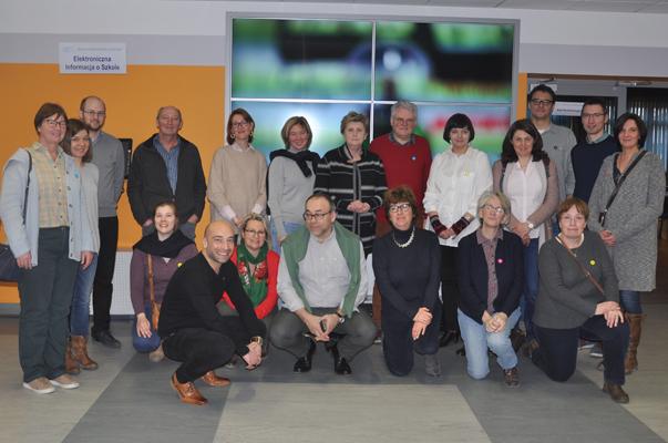 Spotkanie z przedstawicielami szkół z Belgii