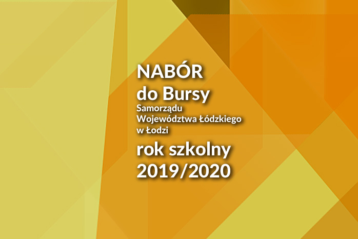Bursa – nabór na rok szkolny 2019/2020